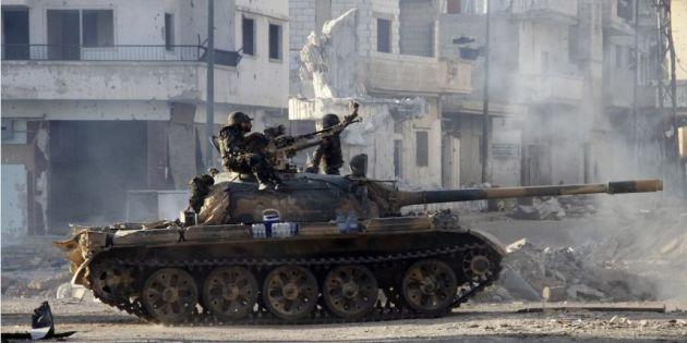 Qousseir-Syrie Armée syrienne a repris le 5 juin 2013 la ville laissant derrière elle de nombreux civils blessés -