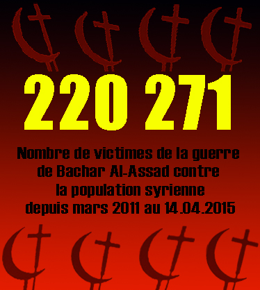 Statistiques-victimes-du-régime-d'Assad-au-mi-avril-2015