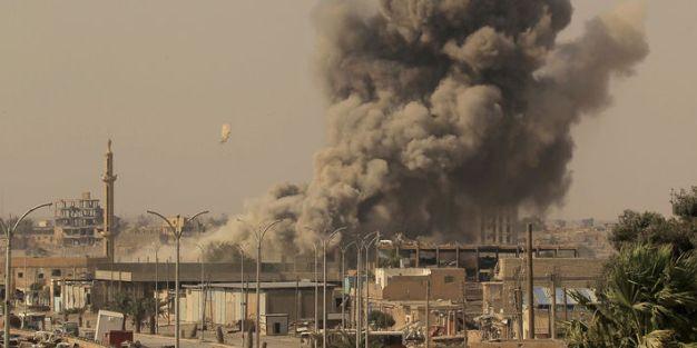 Raqqa - Les-Forces-democratiques-syriennes-reprennent-la-vieille-ville-de-Raqqa-a-Daech