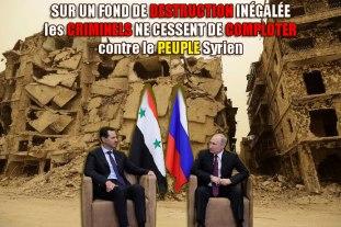 Rencontre Assad-Poutine à Soutchi mai 2018