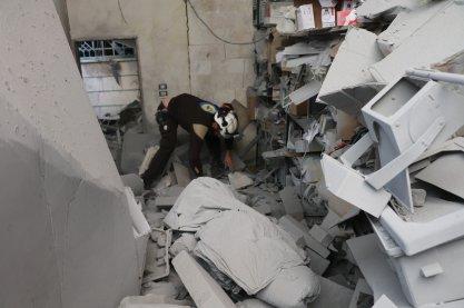 Raids russes sur Darat Azza - Syrie-17.2.2020-1