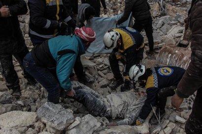 Syrie pilonage de l'aviation russe et syrienne des villes et villages dans le gouvernorat d'idleb - 4 février 2020-2